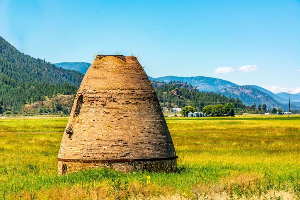 A Retired Beehive Kiln in Stevens County Washington. . Link takes you to my RedBubble sales gallery.
