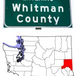 Whitman County Sign and Location