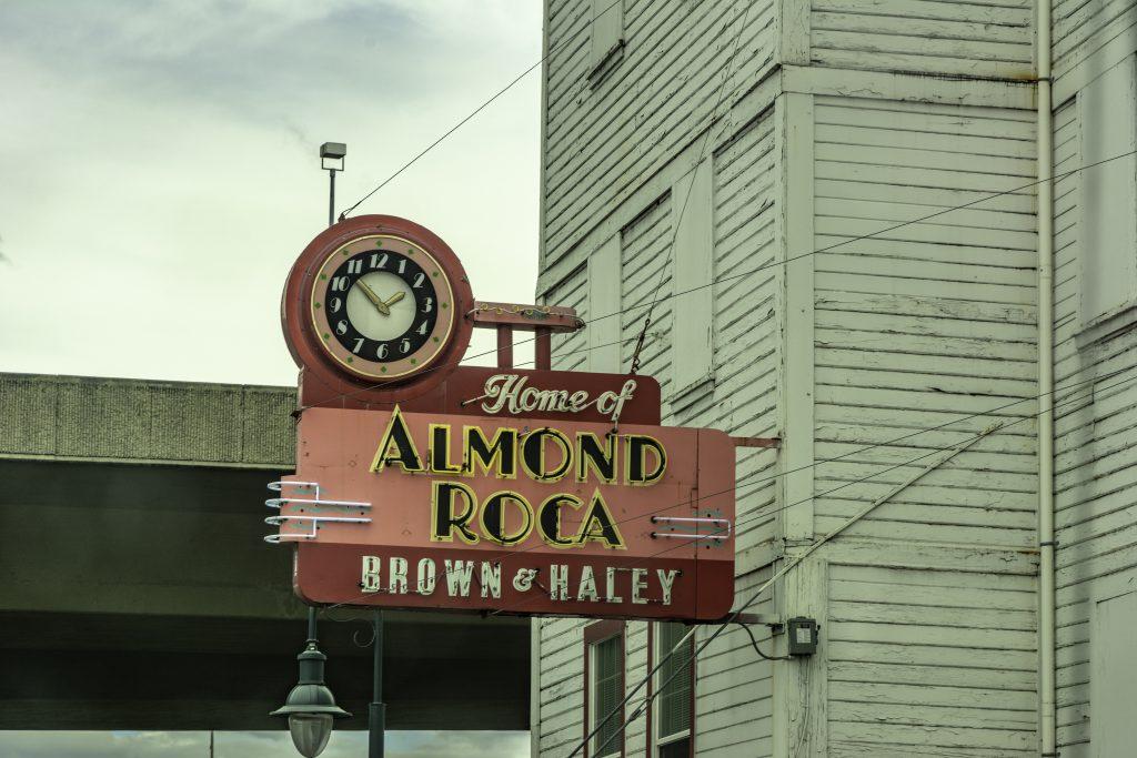 The Almond Roca Factory in Tacoma, Pierce County, Washington