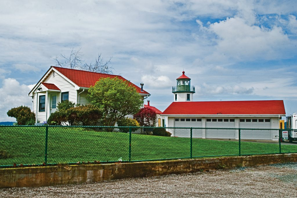 The Lighthouse at Al-ki Point, West Seattle.