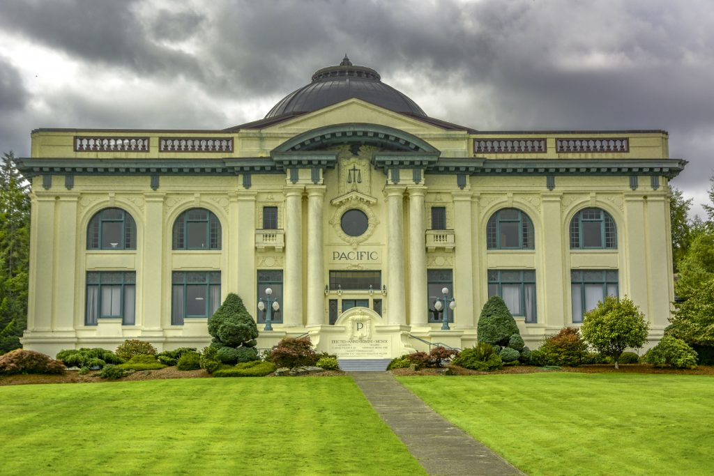 The Pacific County Courthouse