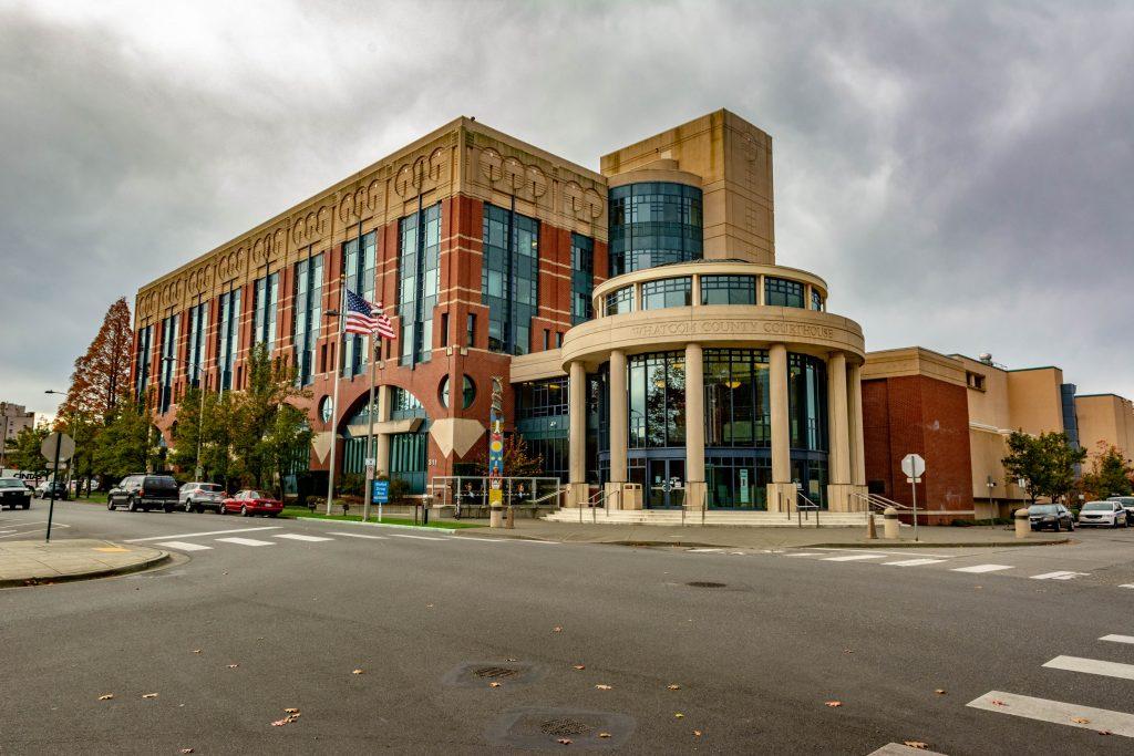 The Whatcom County Courthouse, Bellingham, Washington