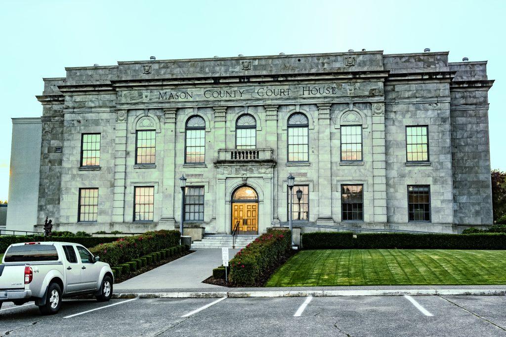 The Mason County Courthouse