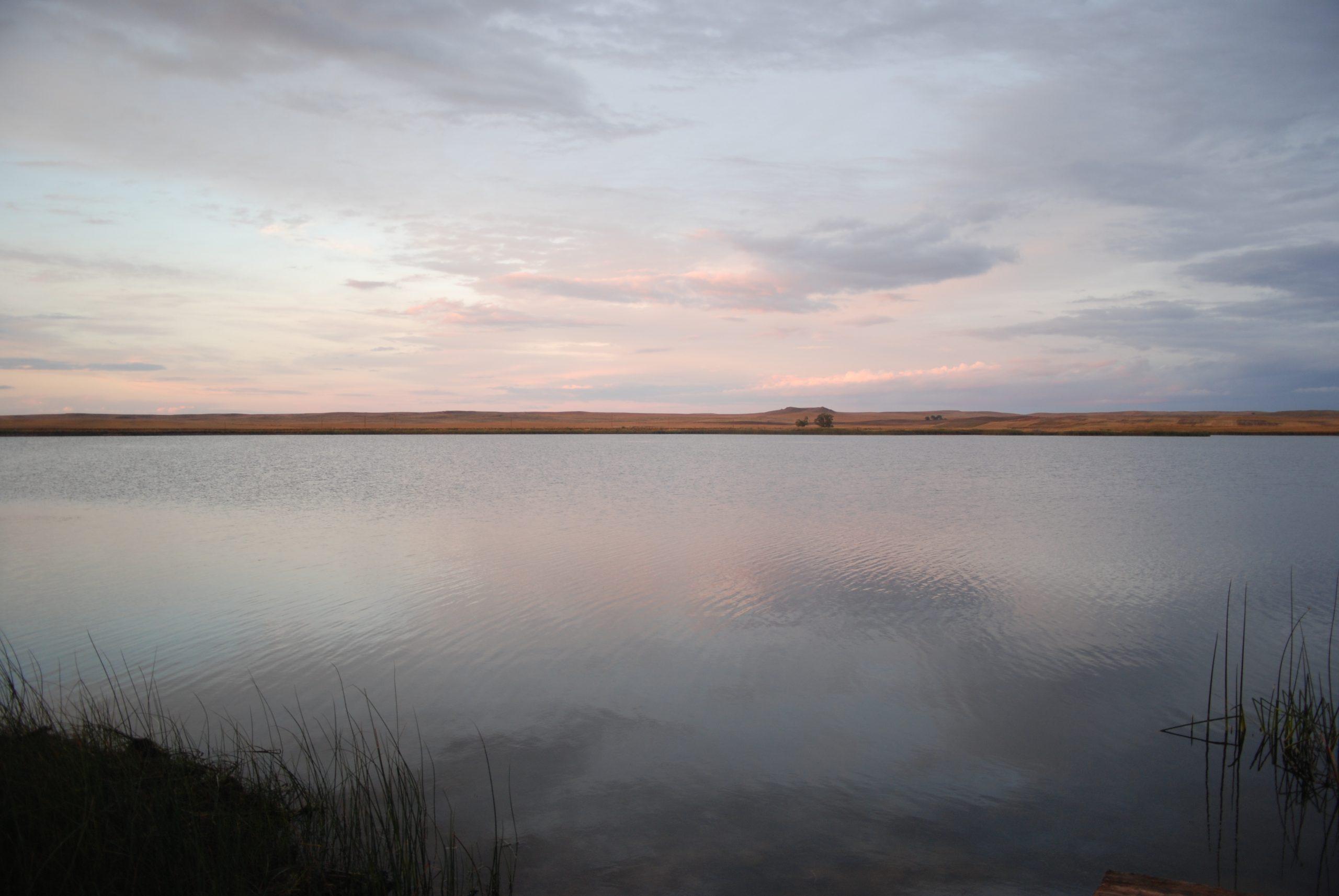 South Sandstone Reservoir, Fallon County, Montana