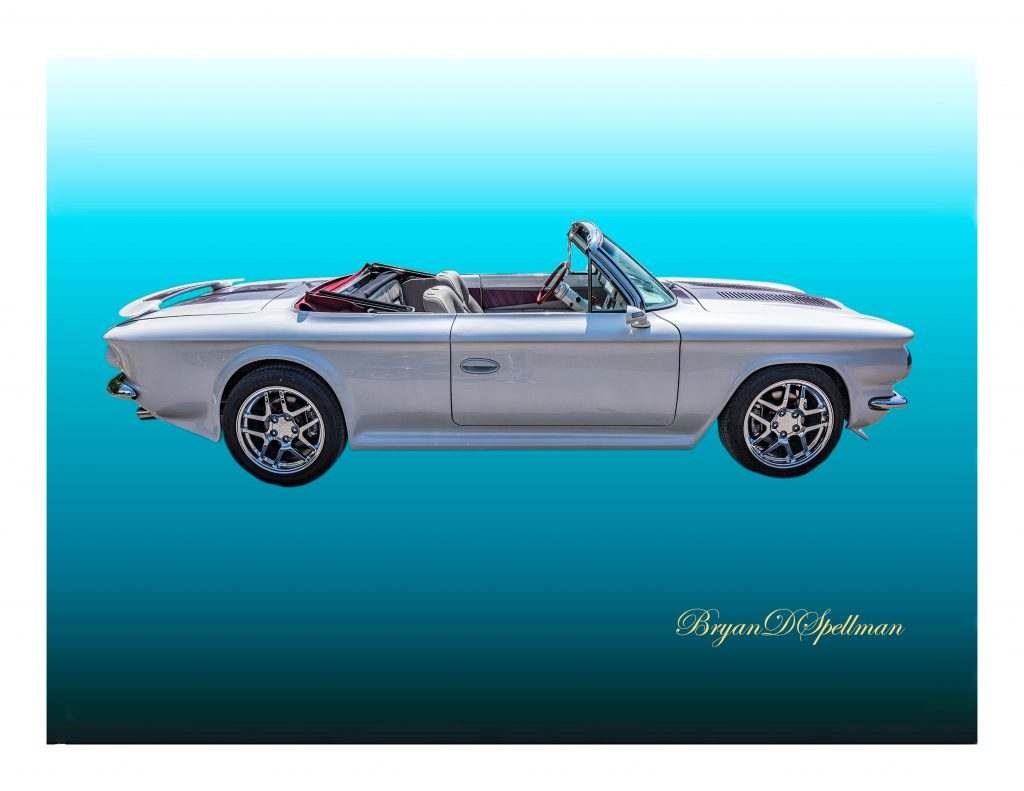 1963 Corvair Convertible