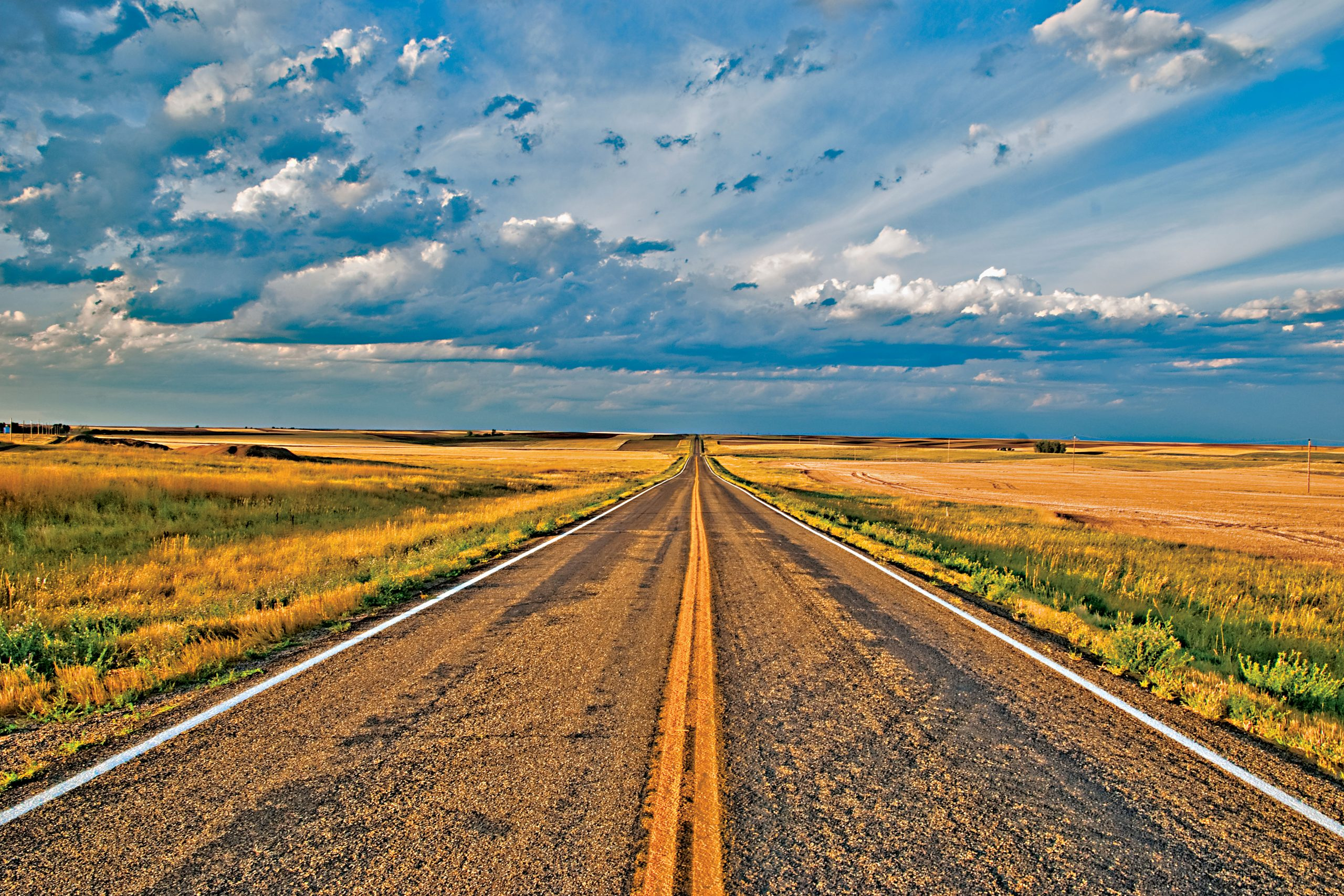 Montana Highway 24 crossing Valley County