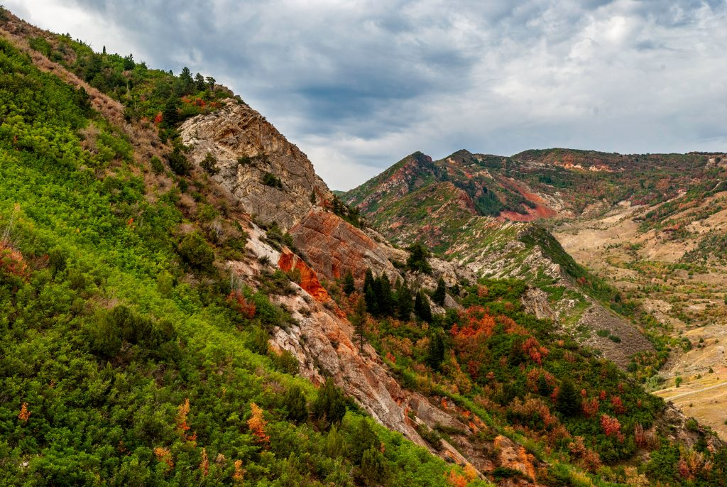 Utah's Wasatch Mountain Range