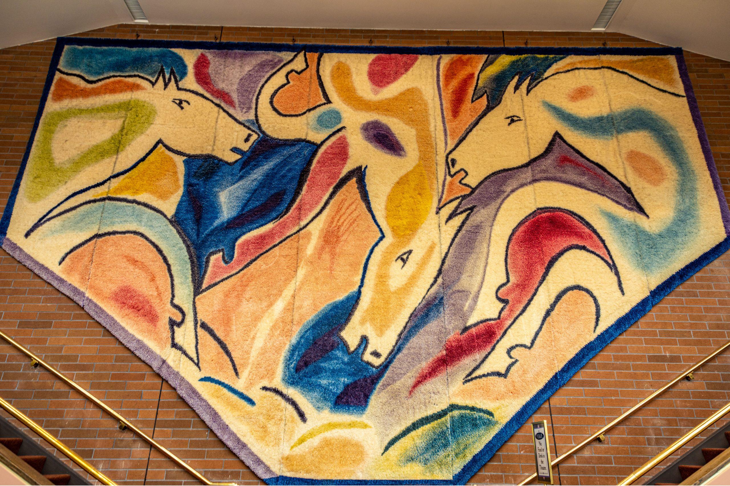 The Montana Horses Tapestry