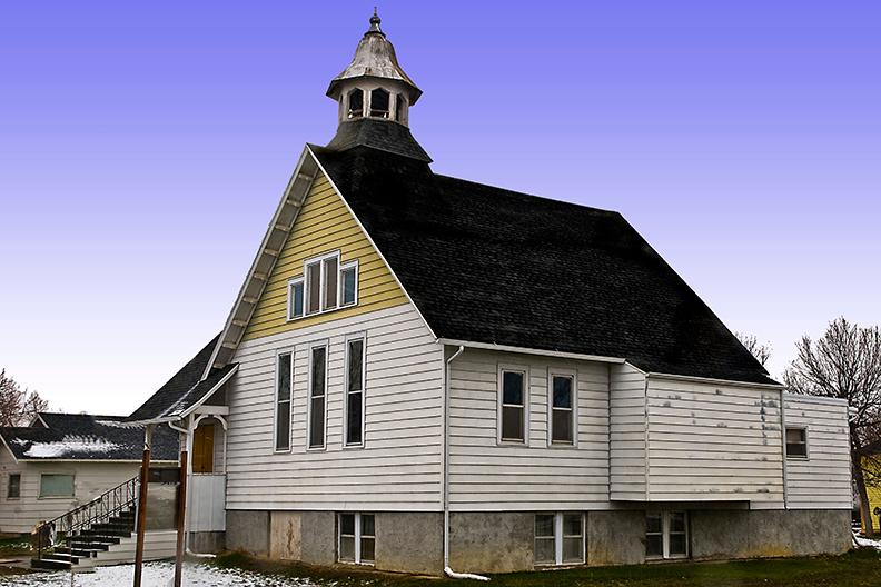 The Lavina MT United Methodist Church