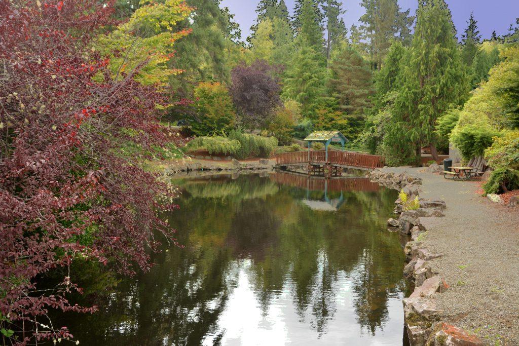 A Garden seen driving around Pacific County, Washington