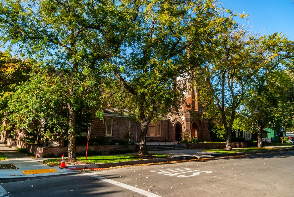 Trinity United Methodist Church, Colusa, California