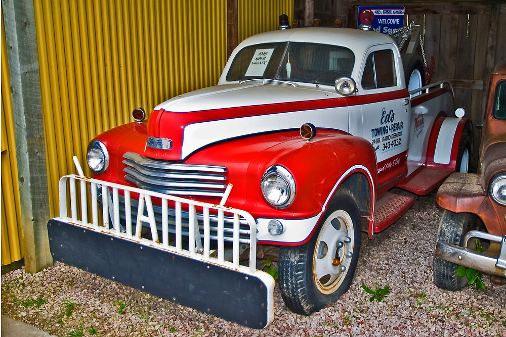 A late 1940s Nash Tow Truck
