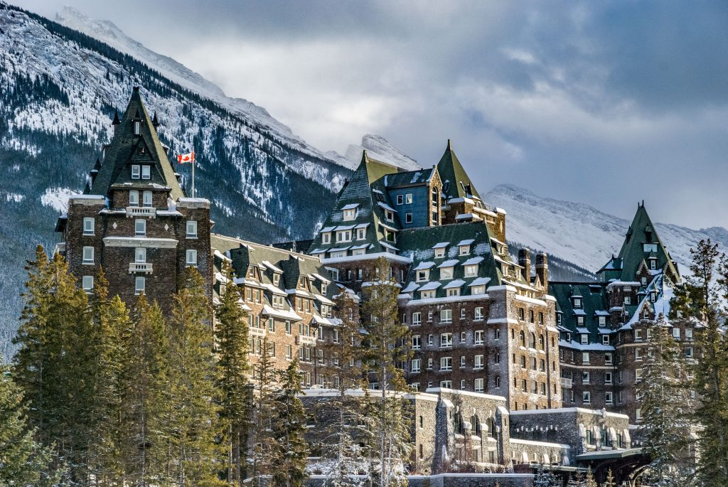 TheBanff Springs Hotel--a great place to stay when on a trip to Canada.