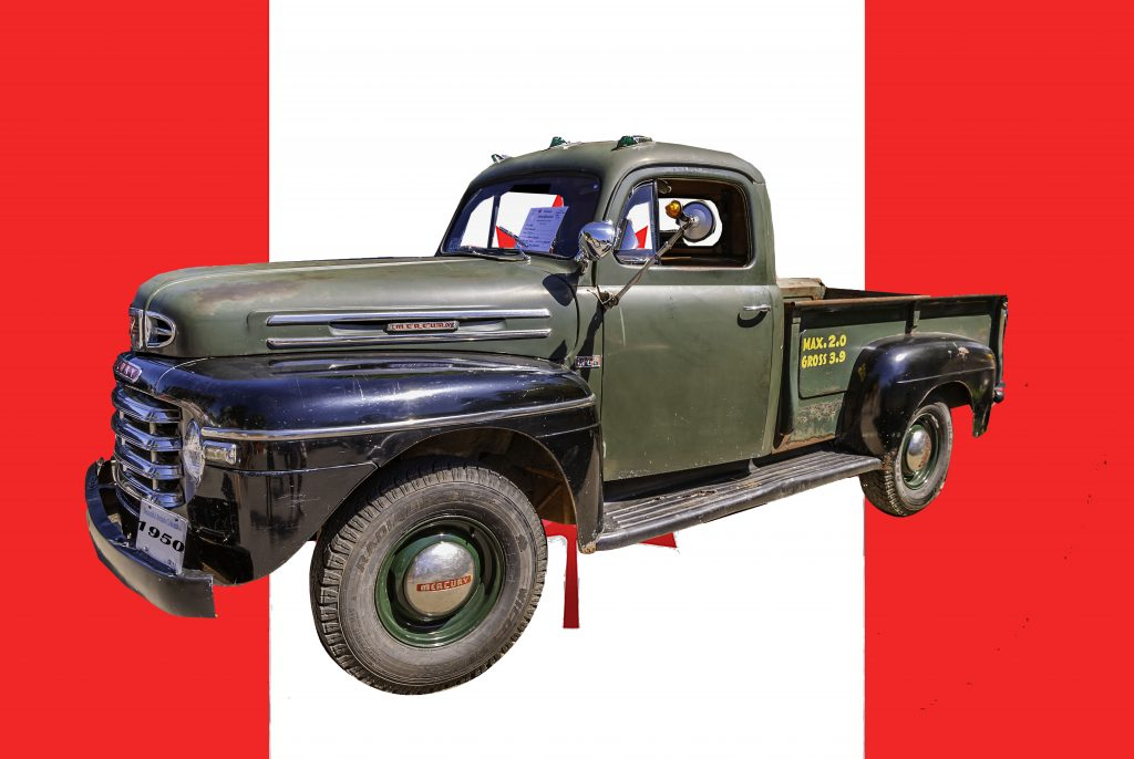 1950 Mercury Pickup made by Ford of Canada