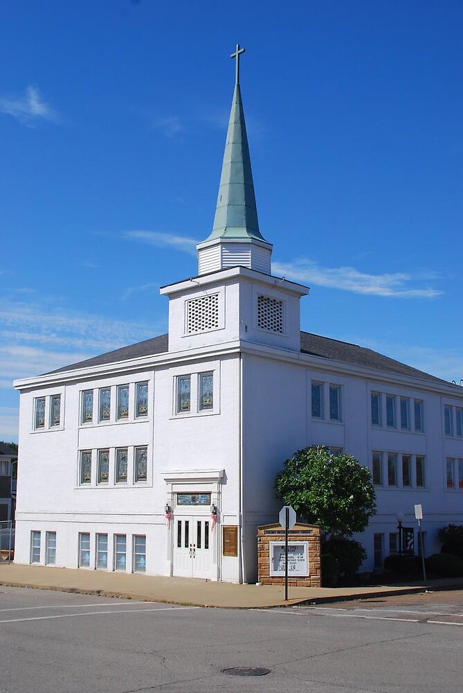 My Grandparents' Church, the Ripley, West Virginia Church of the United Brethren.  (Now Calvary United Methodist Church)