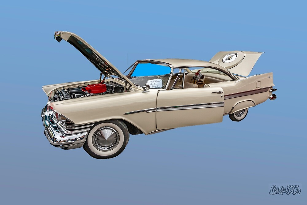 A 1959 Plymouth Fury, another model proving that everybody in America knows the name Plymouth
