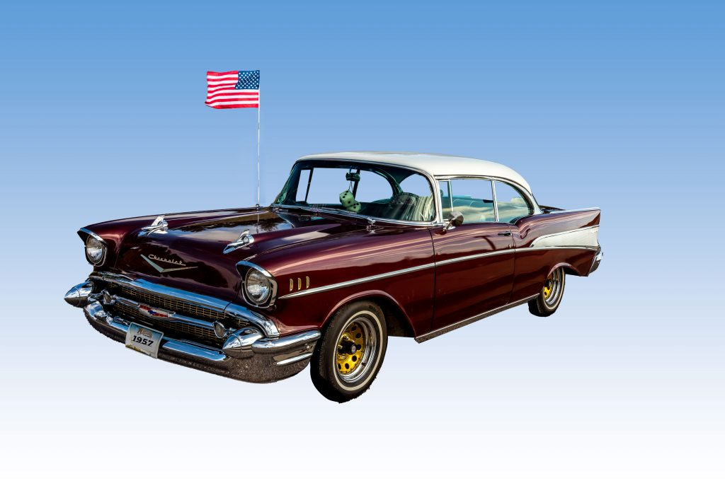A 1957 Chevrolet Bel Air