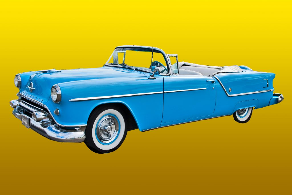 1954 Oldsmobile Super 88 Convertible--My Merry Oldsmobile