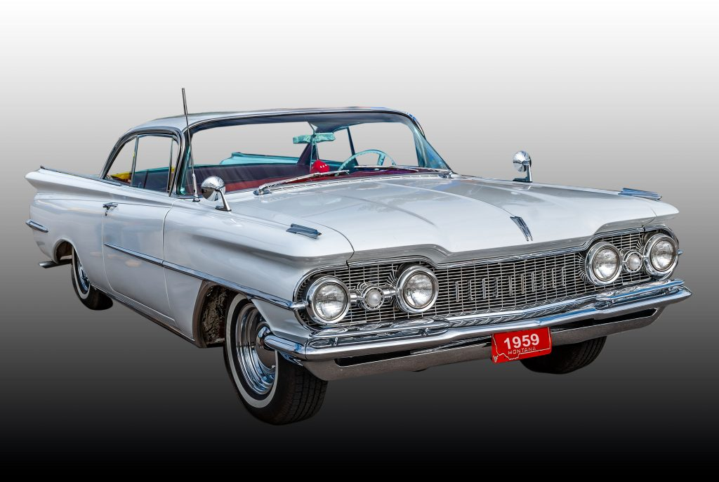 1959 Oldsmobile Holiday Scenicoupe