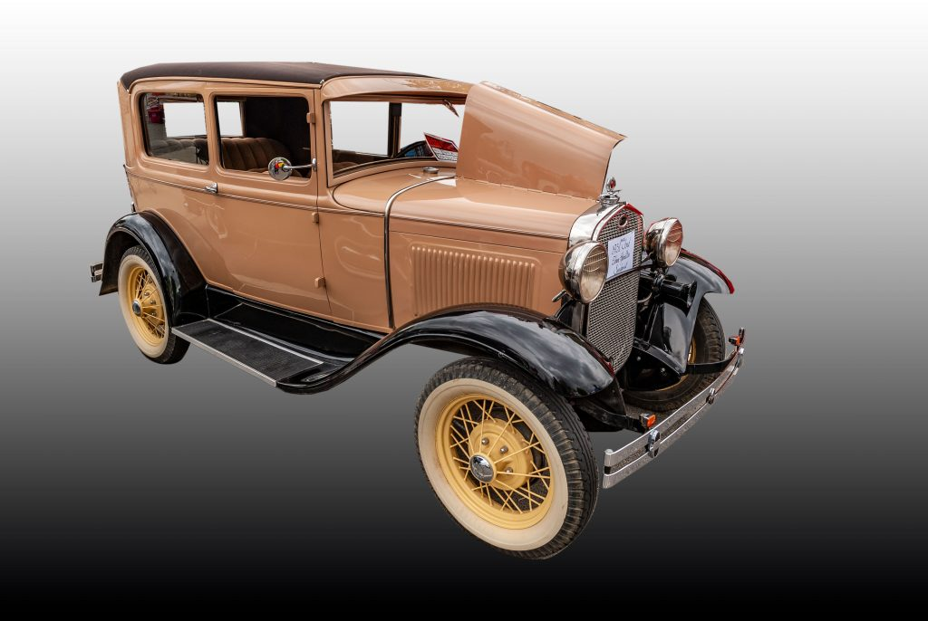 A 1931 Ford Model A