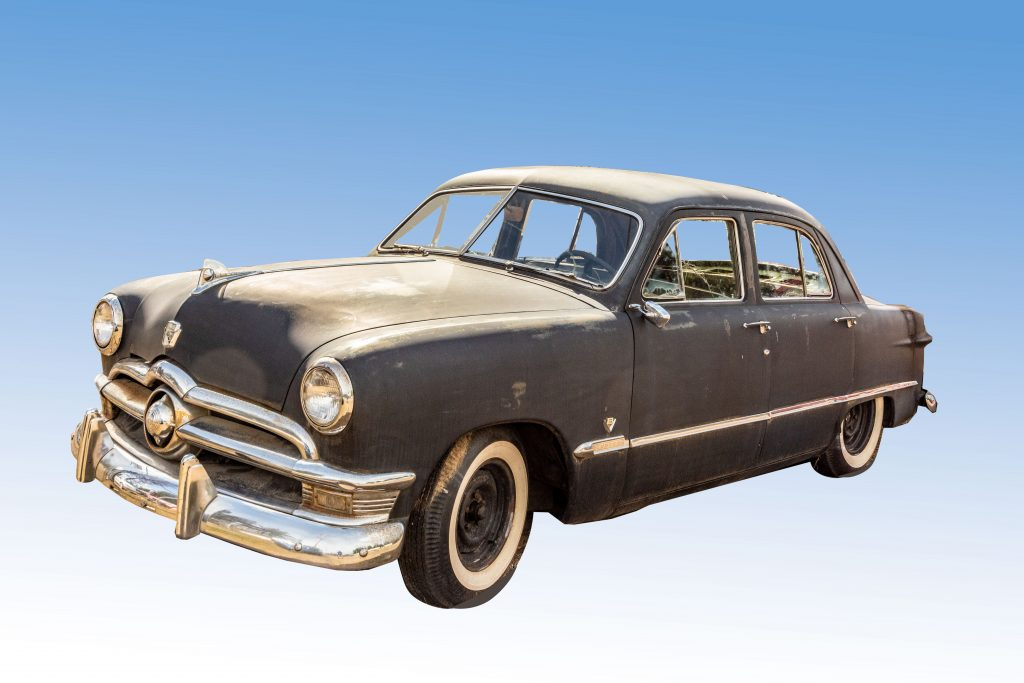 1950 Shoebox Ford Custom