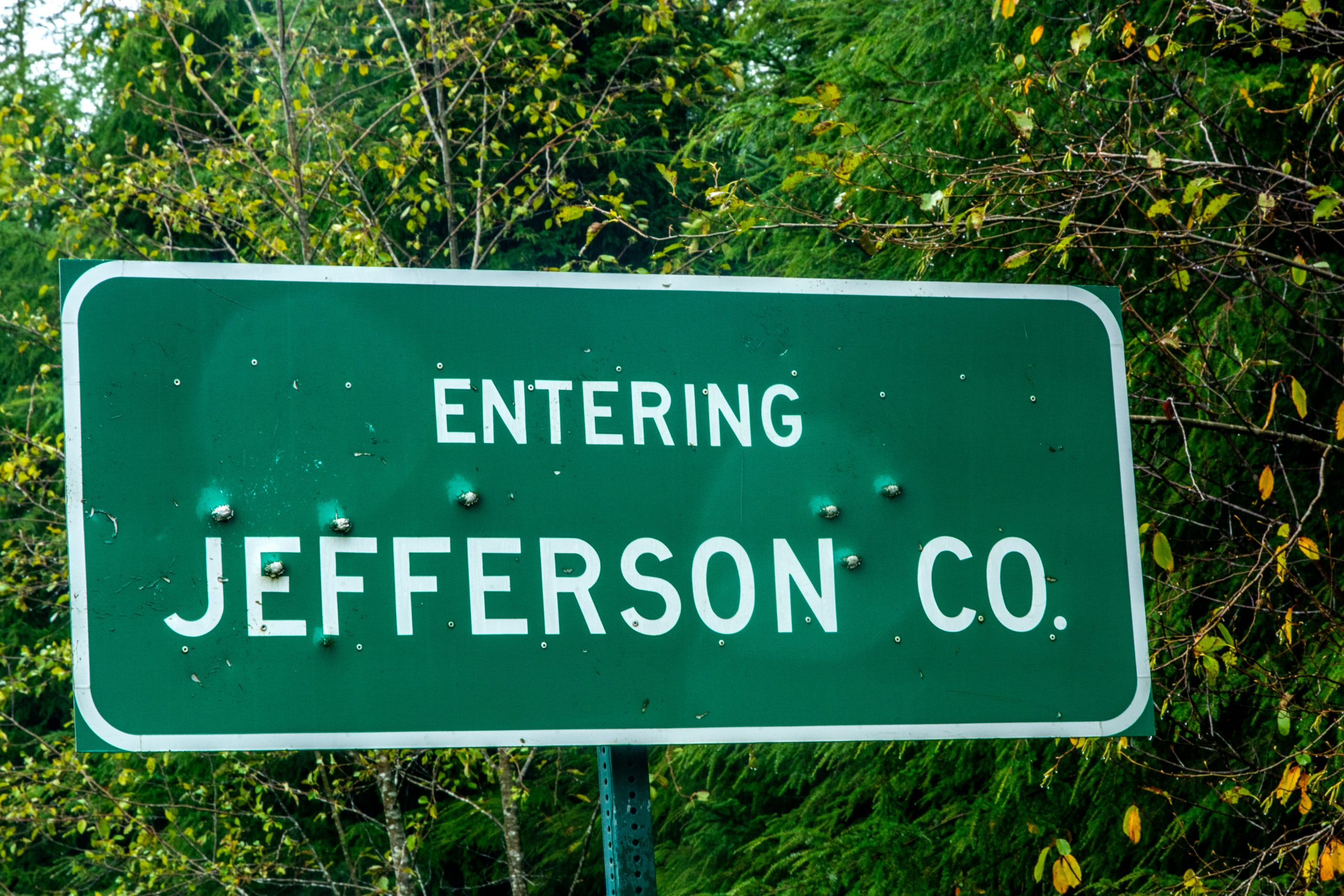 Driving Across Jefferson County