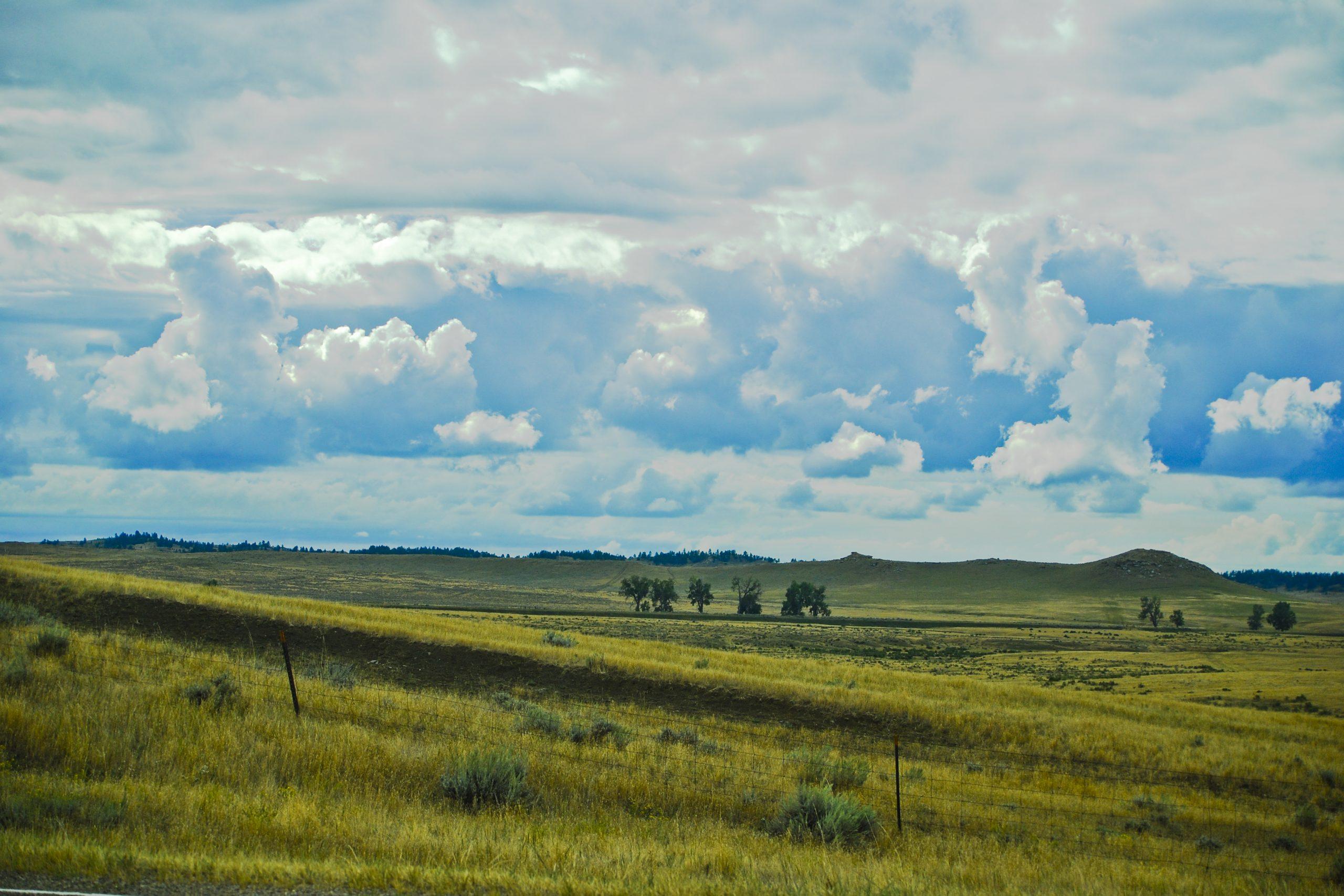 The Big Sky--Rosebud County Farmland
