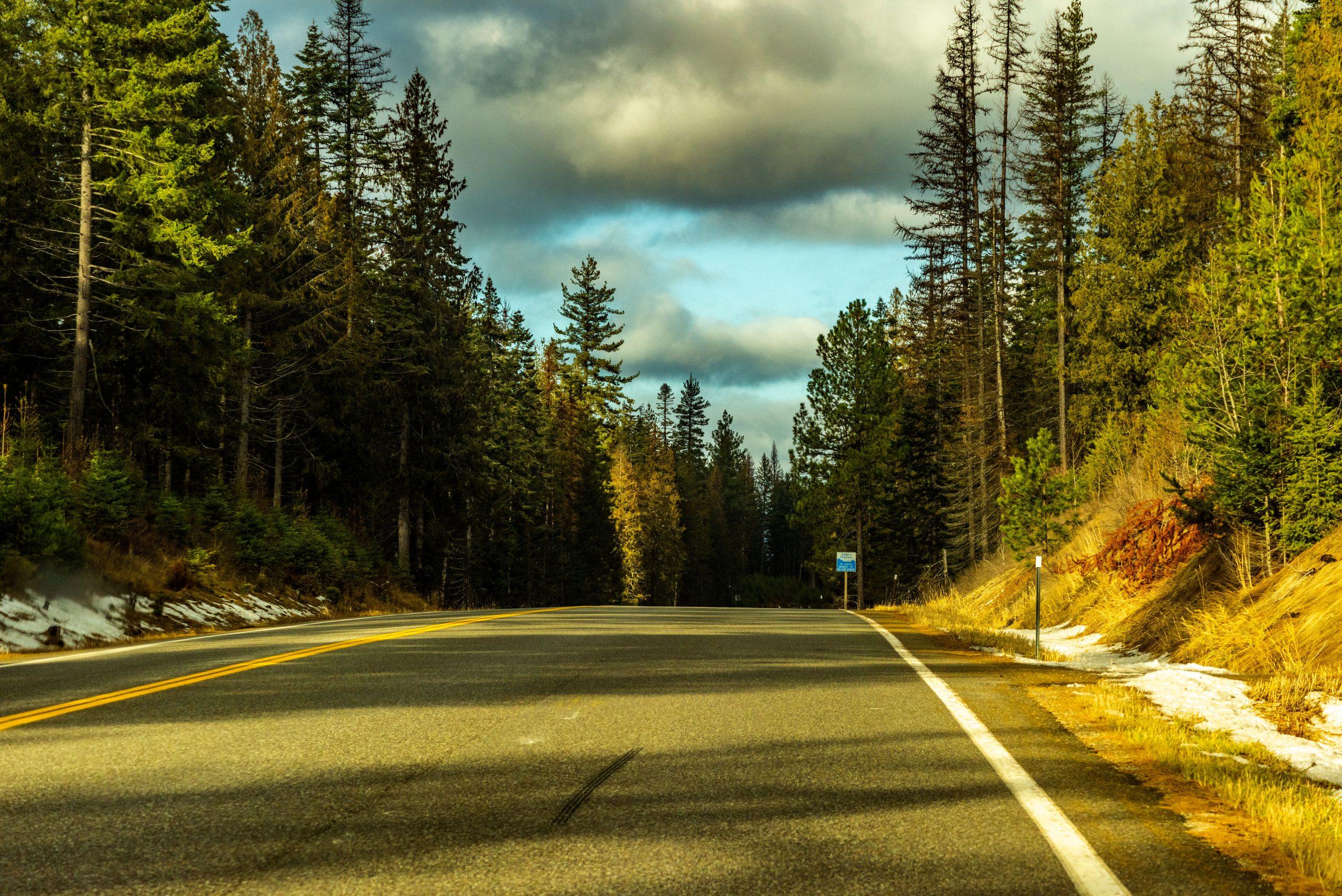 A November Sunday Drive on Idaho Highway 57