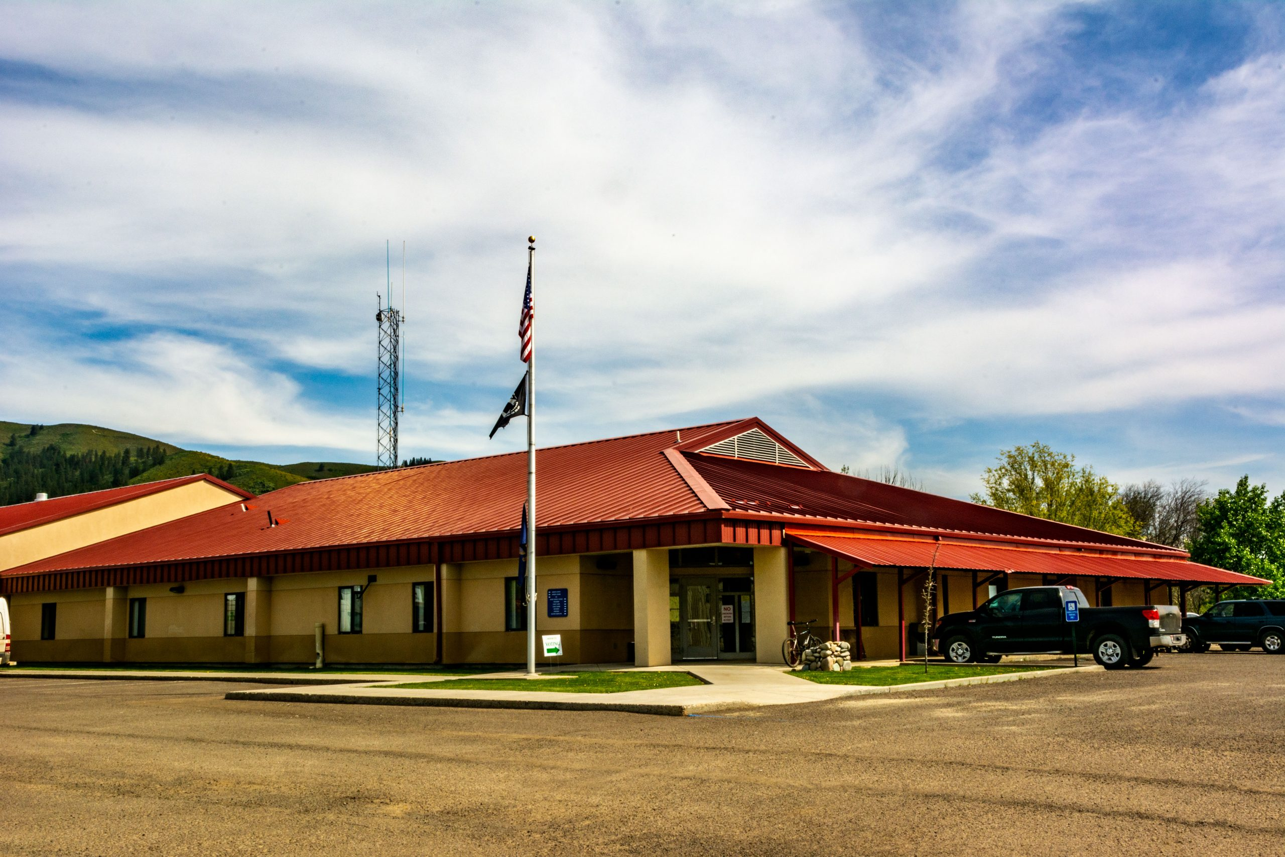 The Adams County, Idaho, Court House