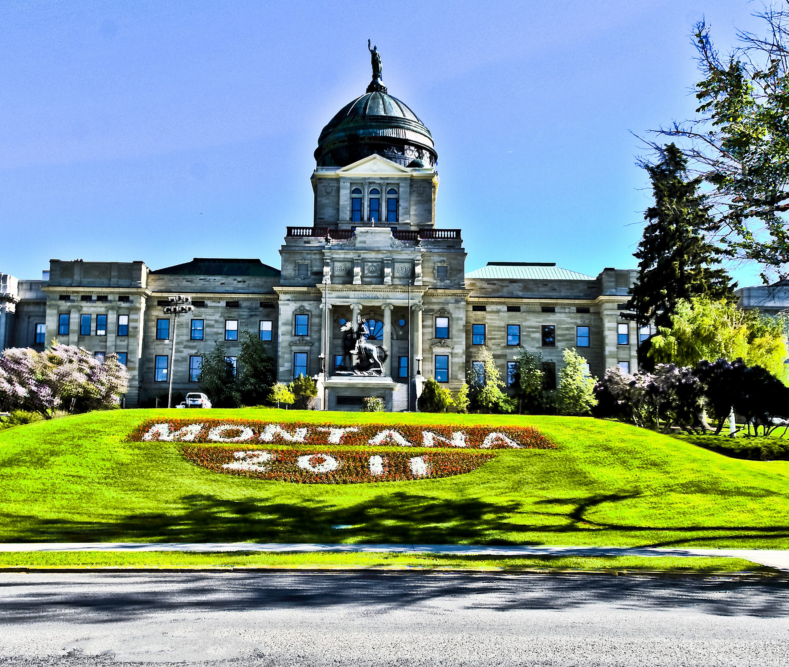 The Montana State Capitol, Glory of the West