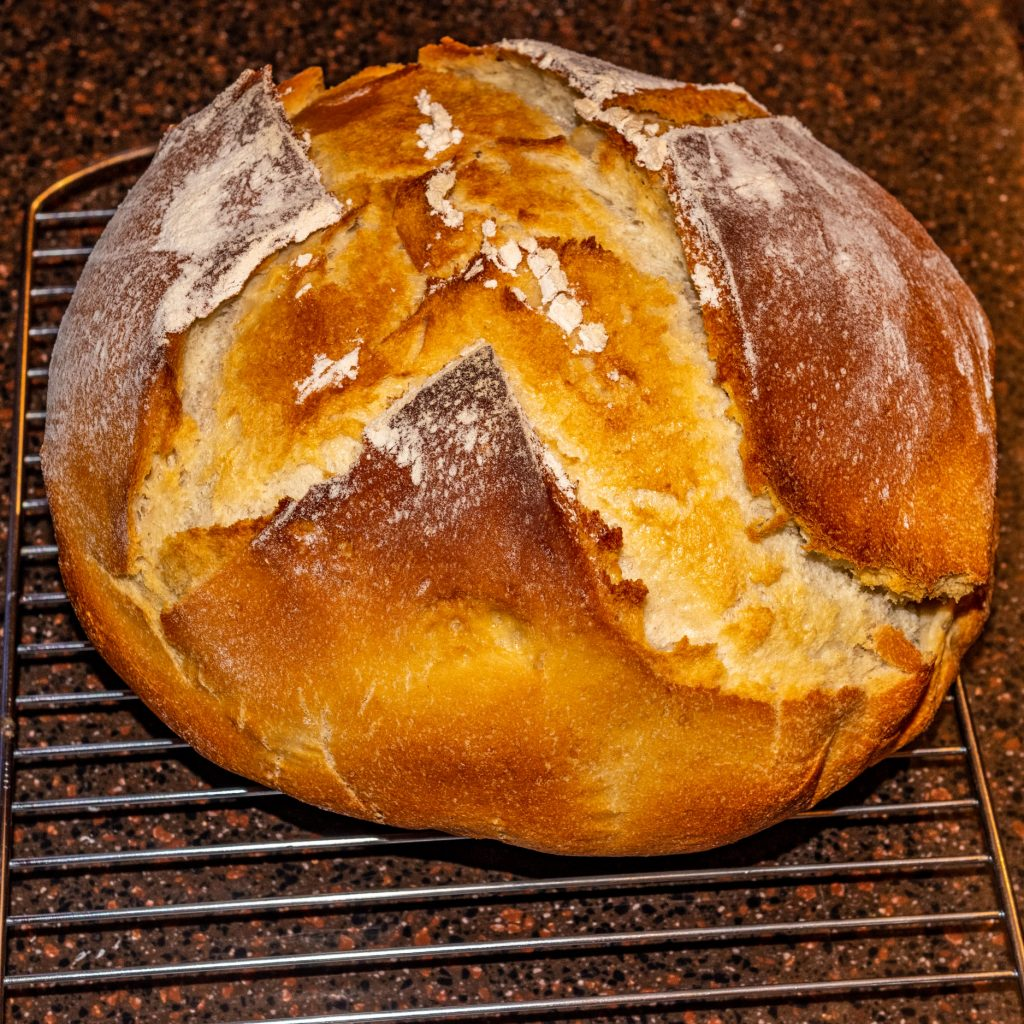 Rustic Sourdough Bread--part of this last week of cooking