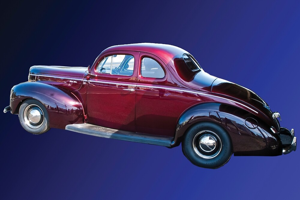 A 1940 Ford DeLuxe.  The last of my photography sales in 2011.