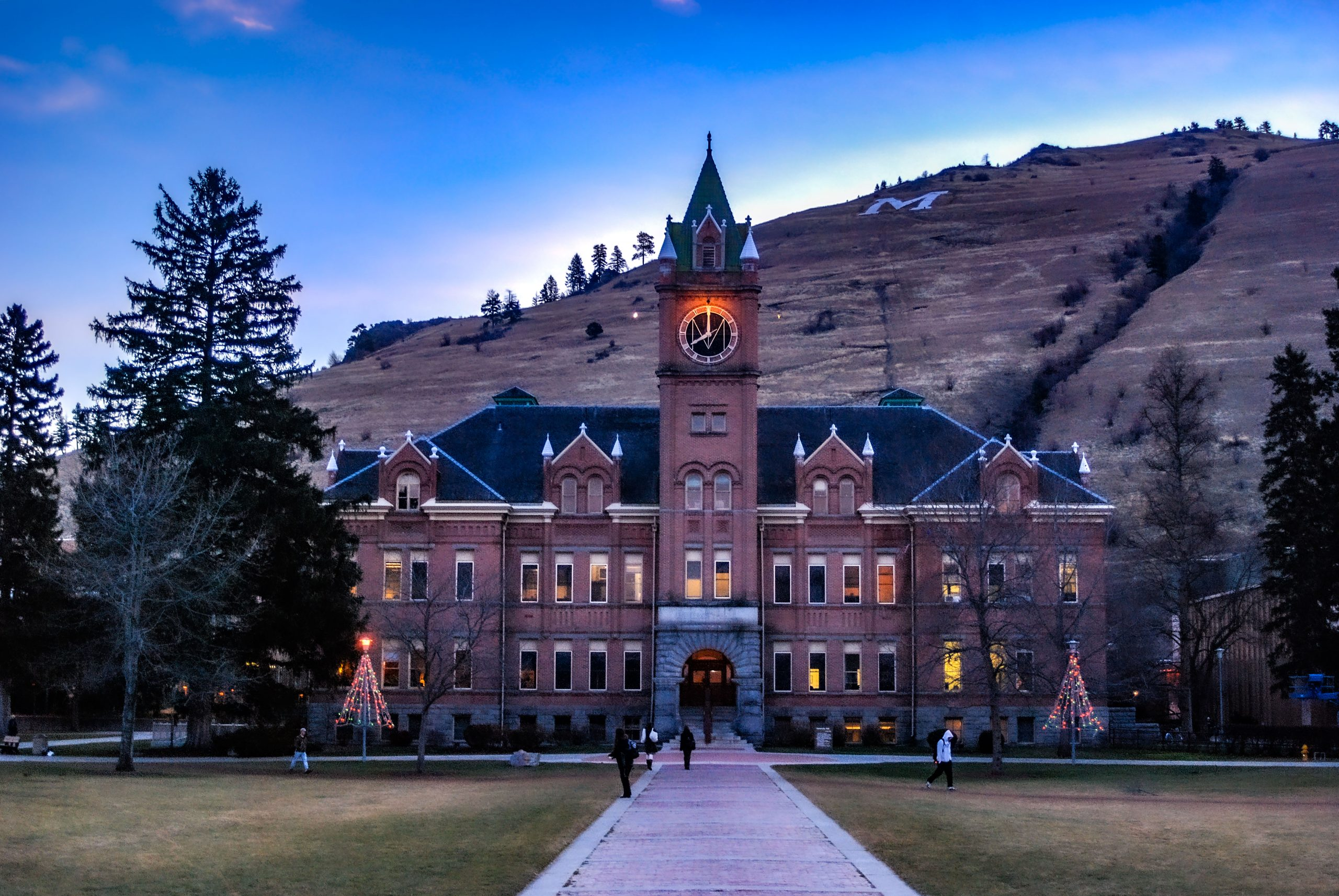 Main Hall on the University of Montana Campus