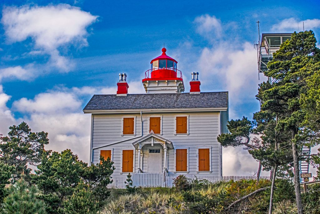 The Yaquina Bay Lighthouse in Newport, Oregon.  One of my photography sales in 2010.