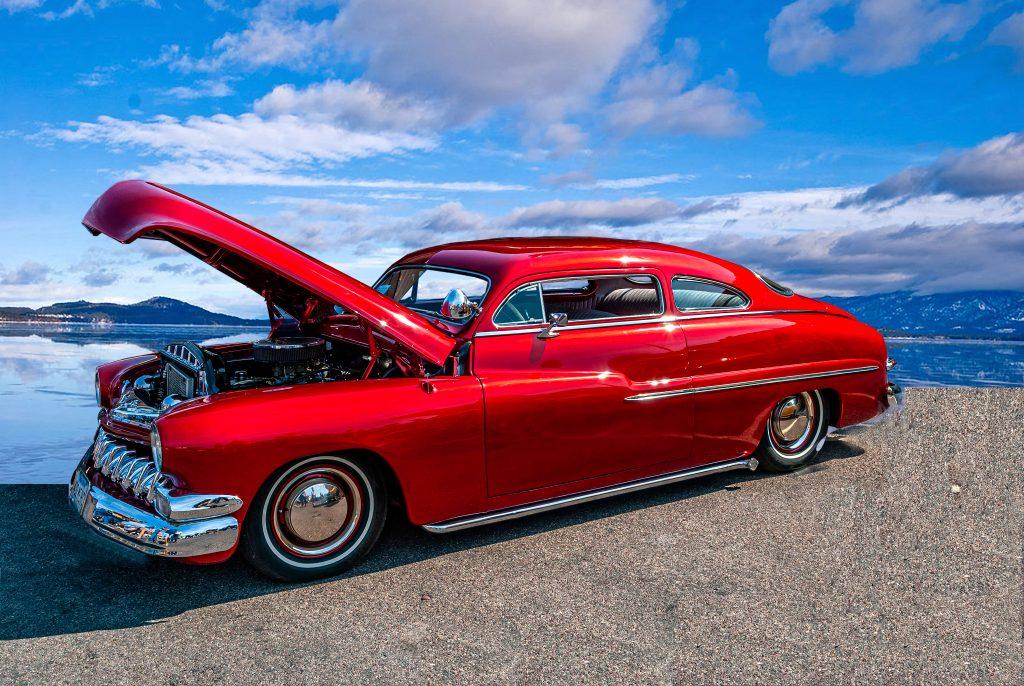 A 1949 Mercury--Lead Sled