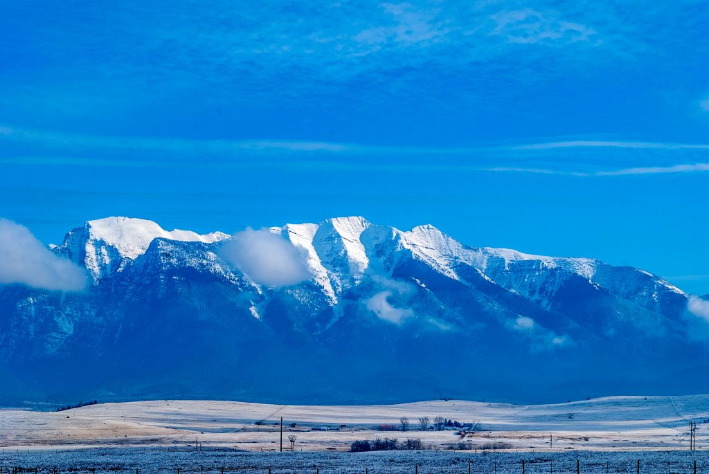 The Mission Mountains, Lake County, Montana.  Link will take you to my Red Bubble sales gallery.