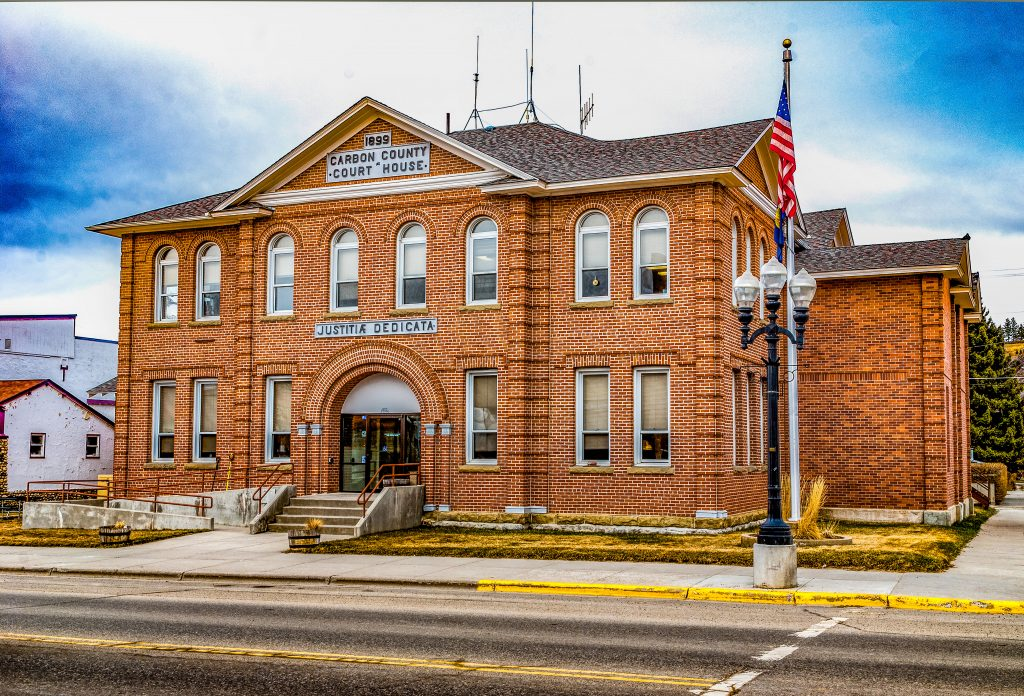 The Carbon County Montana Court House.  One of my photography sales in 2011.