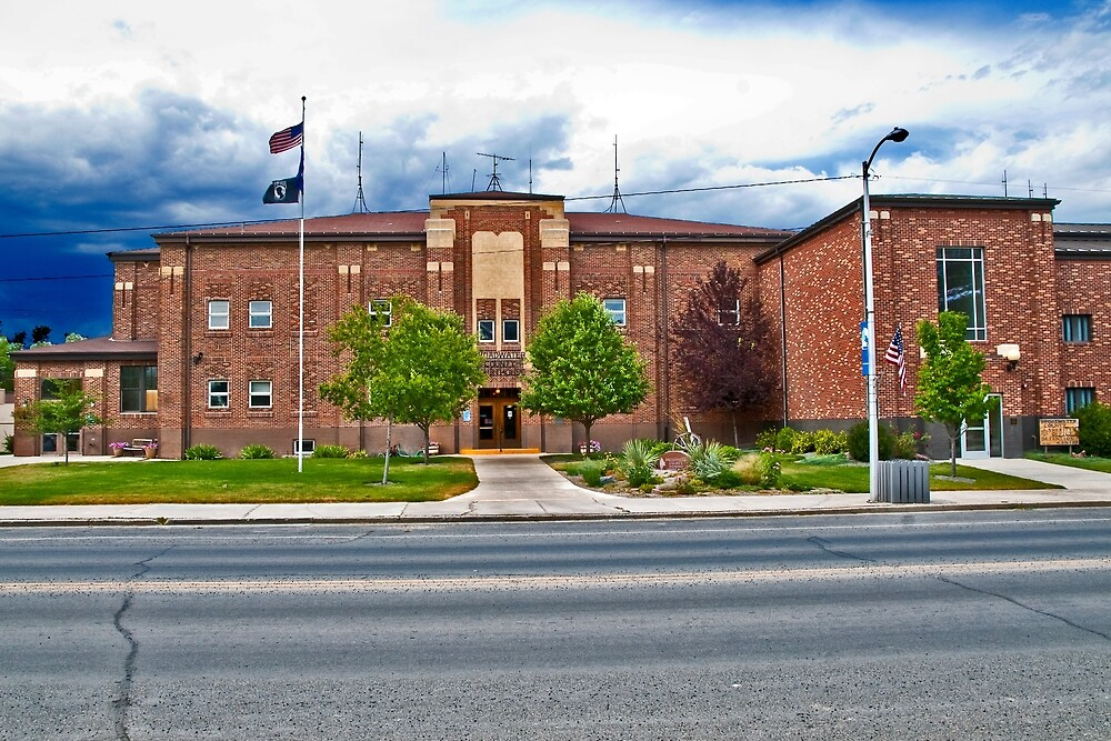 The Broadwater County Court House, Townsend Montana
