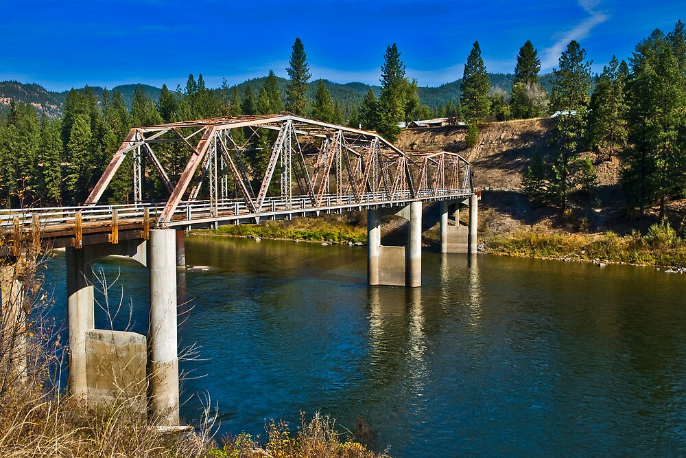 The Westfall Bridge, Lozeau Montana.  The first of my photography sales in 2012.  Link takes you to my RedBubble sales gallery.