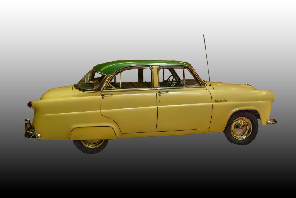 A 1953 Hudson Super Jet.  Link takes you to my RedBubble sales gallery.