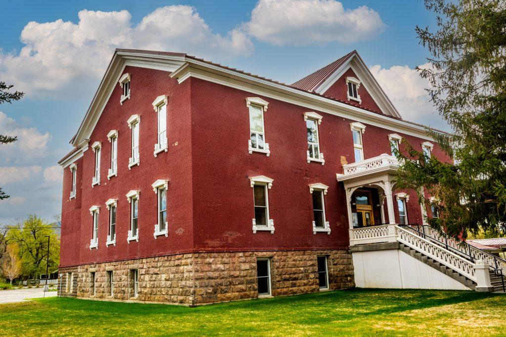 The Blaine County Idaho Historic Court House