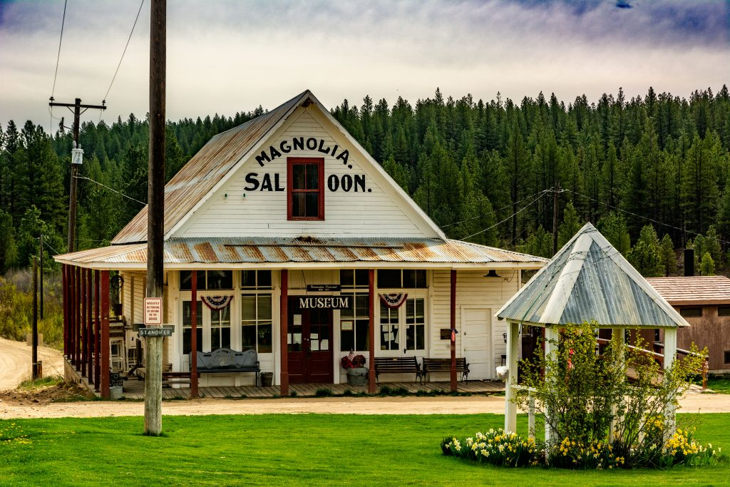 The Magnolia Saloon Museum in Placerville, Boise County Idaho