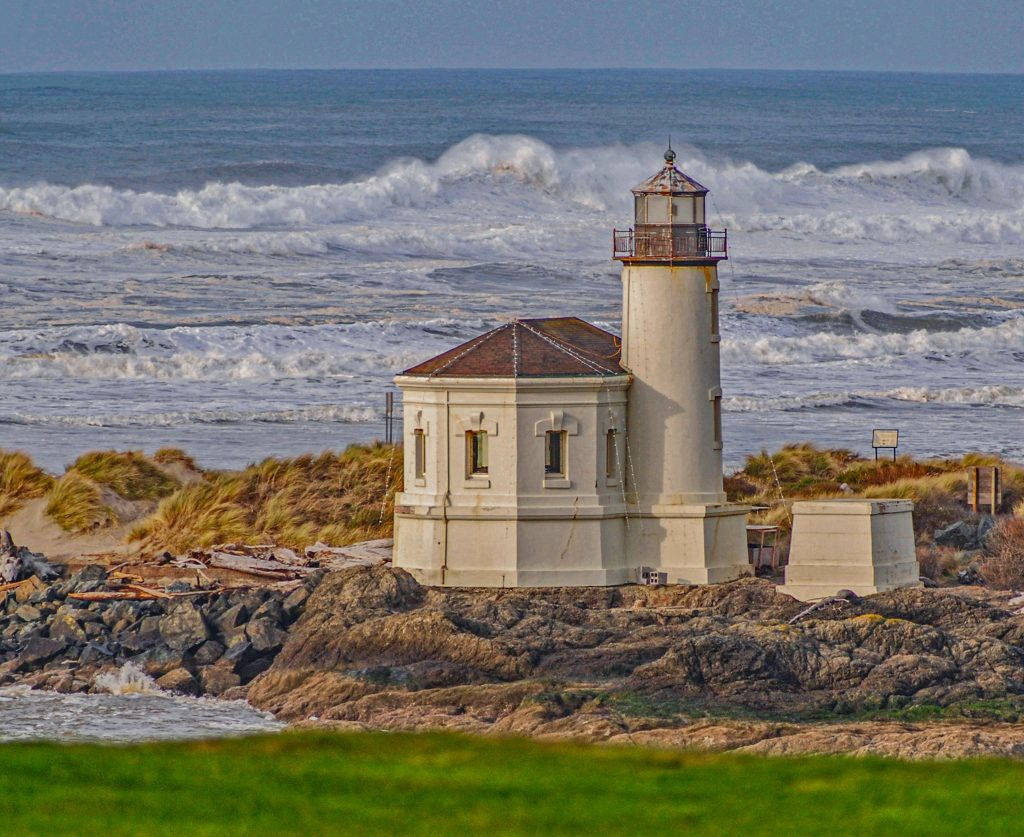 The Coquille River Lighthouse, Bandon Oregon