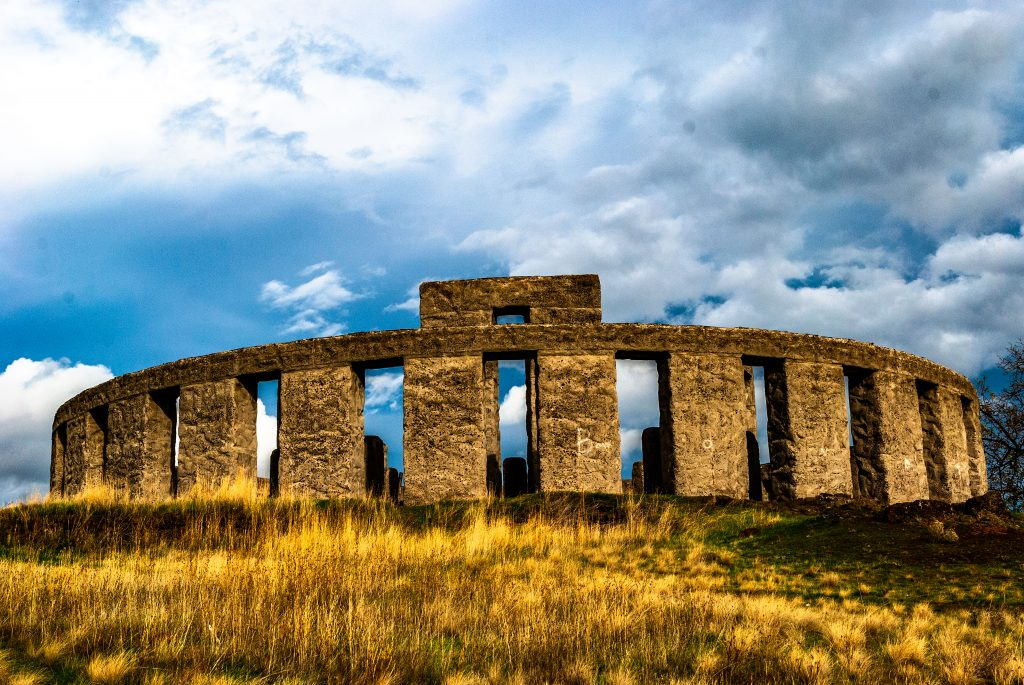 The World War I Memorial to the men of Klickitat County-The Maryhill Stonehenge