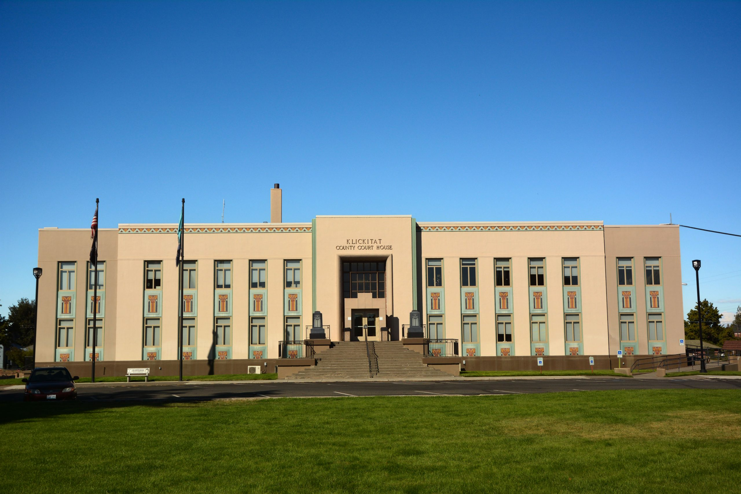 The Klickitat County Court House