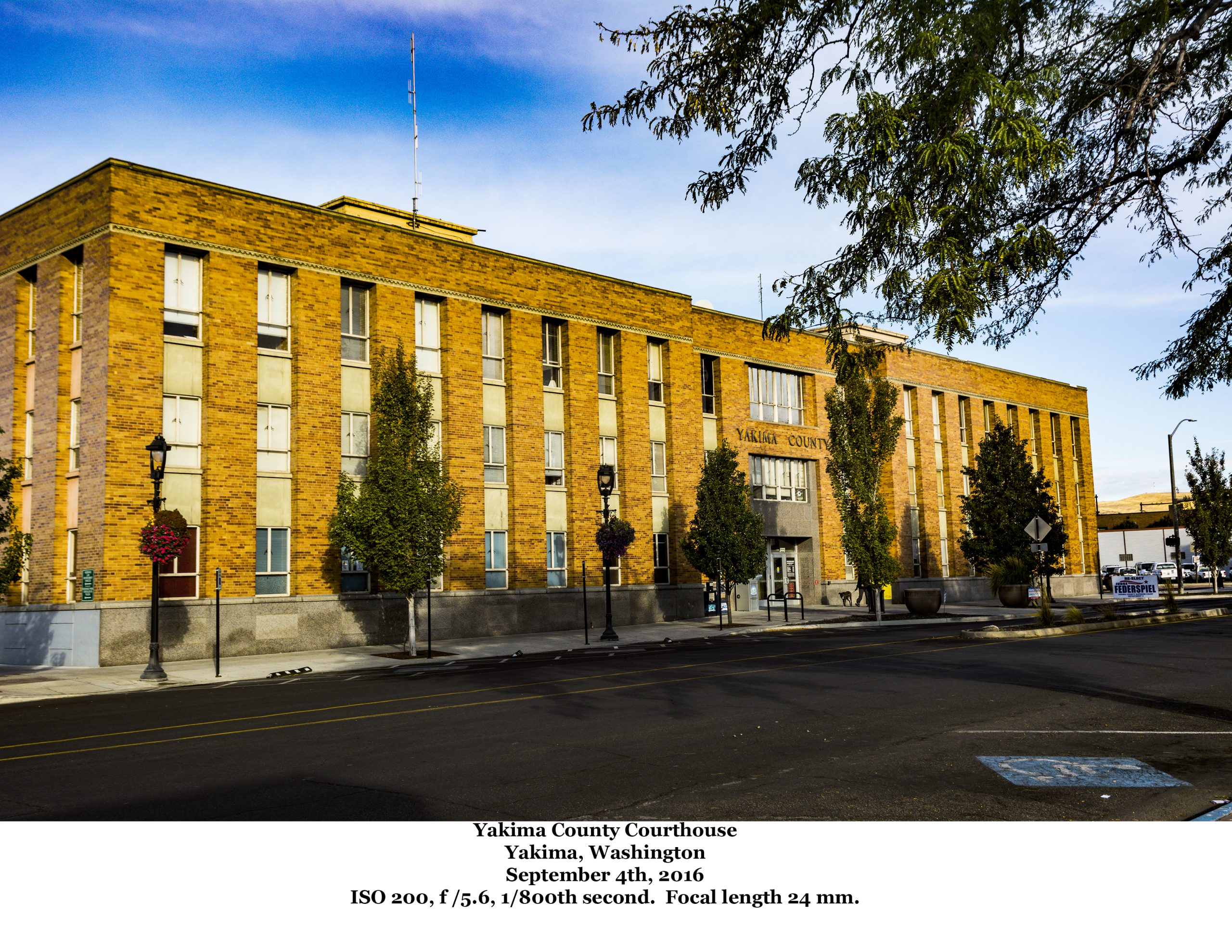 The Yakima County Court House, Yakima, Washington