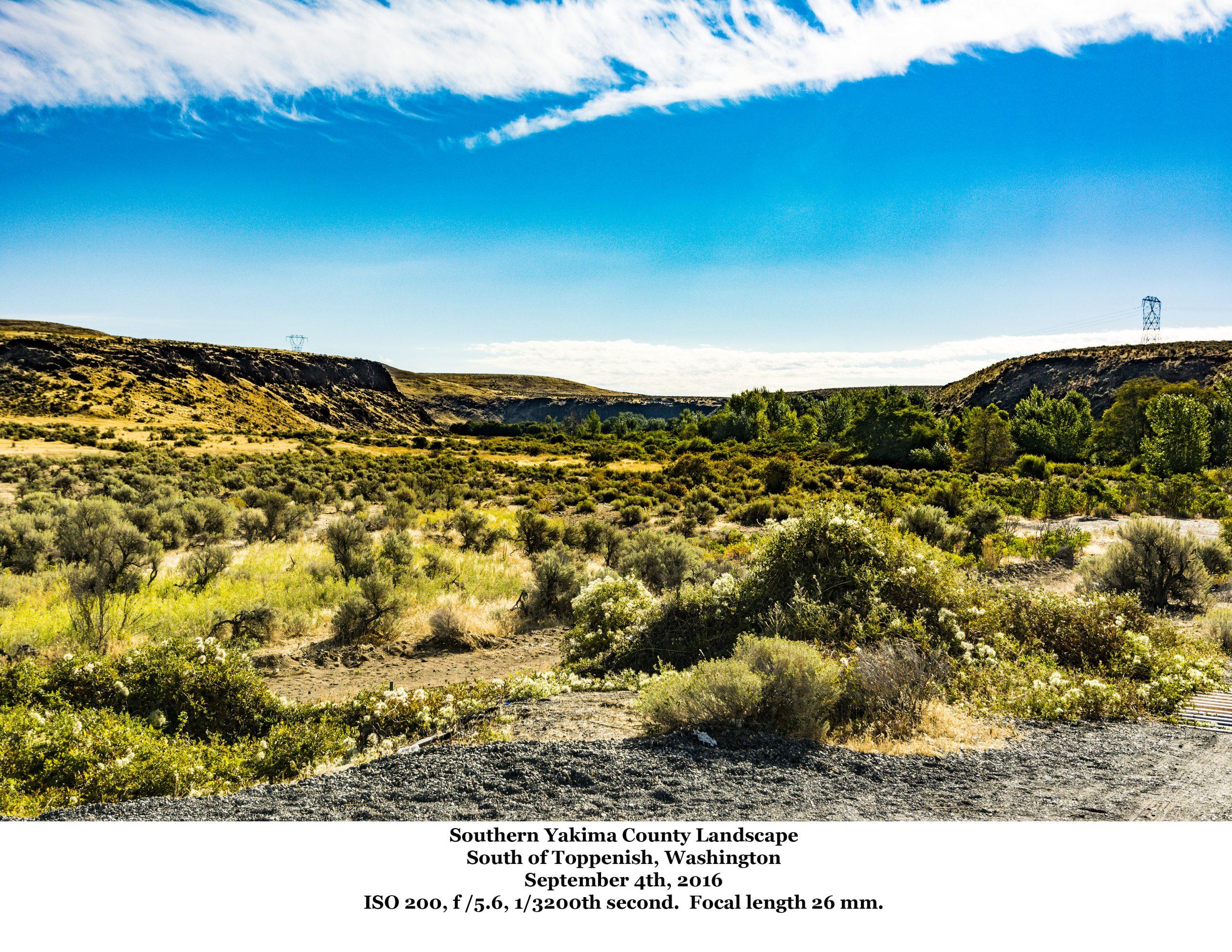 Southern Yakima County Landscape